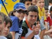 Fidenza, staffetta «Start ragazzi delle medie Gazzetta Parma
