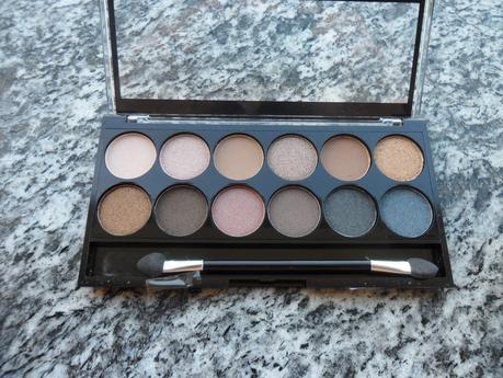 Review Palette Undressed MUA