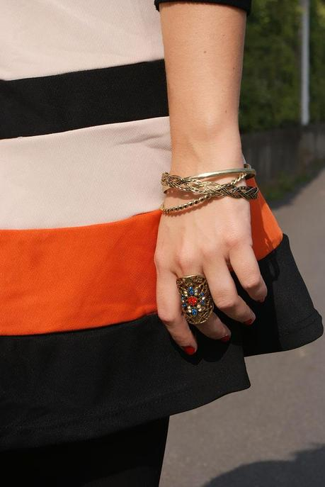 Look of the day: Touch of Orange