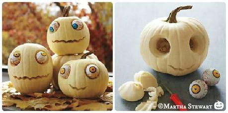 Idee fai da te per la festa di halloween le zucche mostro for Zucca di halloween fai da te