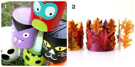 Idee creative per l'autunno e per Halloween - Paperblog