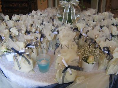 Matrimonio in Bianco Blu con cadeaux Bio - Wedding Blue ...