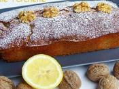 Plum cake noci limone: vero comfort food