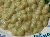 Gnocchetti gorgonzola pesto