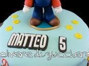 Torta Super Mario Bros pasta zucchero