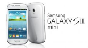 Samsung Galaxy S III mini - Logo
