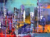 Segni textures vibranti quadri astratti alice bernardi