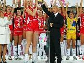 Supercoppa Italiana alla Yamamay Busto Arsizio. farfalle volley volano alto