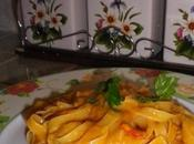 Rifatte: pasta crema peperoni
