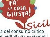 """Palermo Vegetariana alla fiera """"Fa' Cosa Giusta! Sicilia"""""""