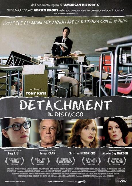 una immagine di Detachment 2011 di Tony Kaye 620x868 su Detachment: Quei Luoghi Oscuri Dove Comincia il Nostro Distacco