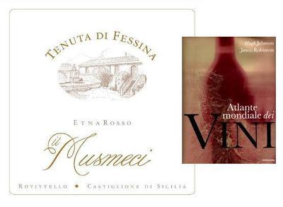 IL MUSMECI di Tenuta di Fessina tra i vini dell' edizione 2013 di The World Atlas of Wine