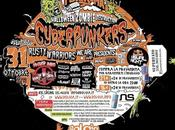 Bolgia Halloween 31/10/12: Zombie Destruction TurboFuturama. mixer Cyberpunkers, Rusty Warriors, Second Room Medicina Party