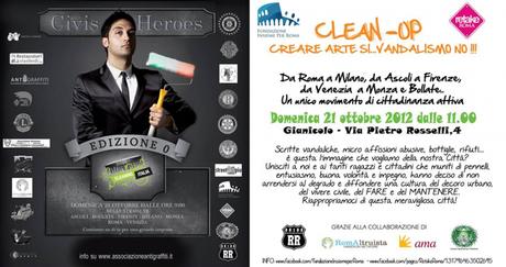 Clean-up: la lotta contro le scritte vandaliche continua! domenica 21