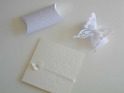 Partecipazioni matrimonio tema farfalle