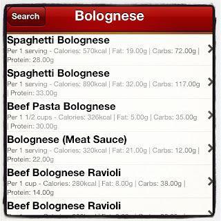 Una applicazione utile  per controllare peso e calorie.