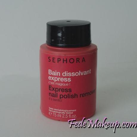 Review Sephora Solvente Express