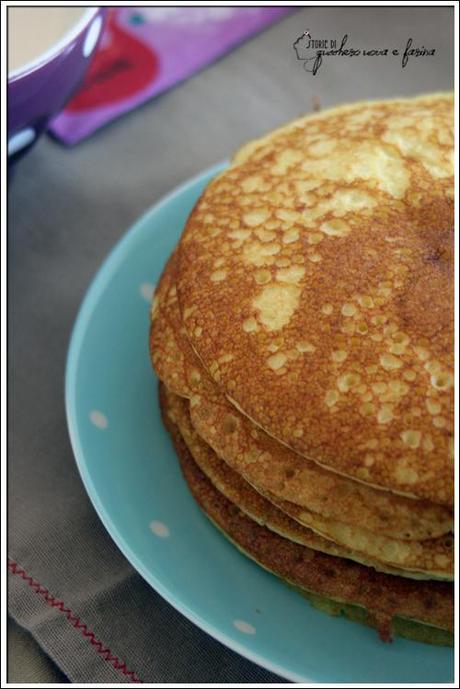 a scuola col sorriso e la domenica con il sole a colazione: pancakes senza glutine!