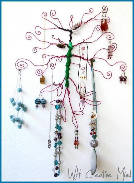 Espositori fai da te l 39 albero porta gioielli paperblog - Porta gioielli fai da te ...
