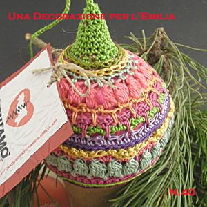 Ball Christmas, una decorazione per l'Emilia