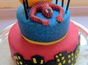 Spiderman cake cookies