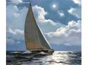 Omaggio James Brereton, pittore contemporaneo specializzato soggetti marini