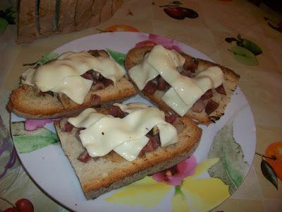 Bruschetta Pancetta e Sottilette® le Light