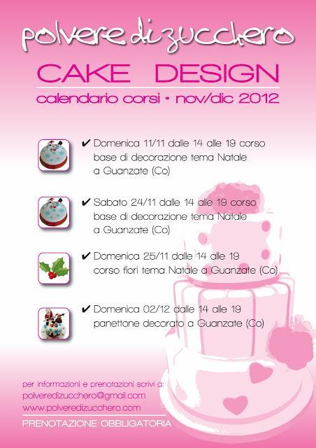 Corsi Cake Design Milano 2018 : Corsi Cake design Natale.... arrivano! - Paperblog
