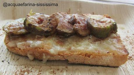 bruschetta gorgonzola e fichi...
