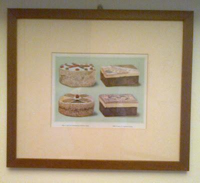 stampe antiche in cucina