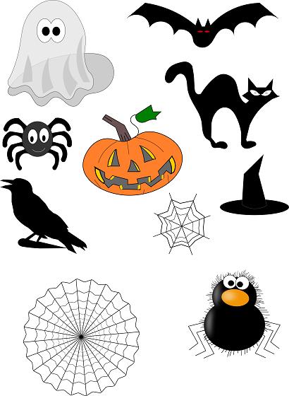 Illustrazioni per halloween con inkscape paperblog - Come disegnare immagini di halloween ...