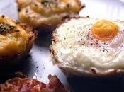 Nidi croccanti patate uova