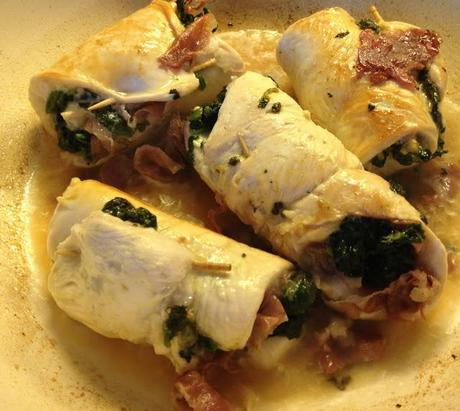 very easy recipe using chicken breast... Chicken involtini are chicken ...