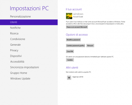 how to change microsoft account in windows 8 pc
