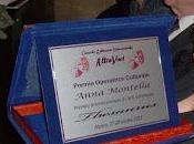 """Premio Thesaurus """"Operatore Culturale 2012"""" assegnato Anna Montella"""