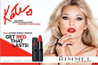 Kate Moss : Red Lipstick Collection
