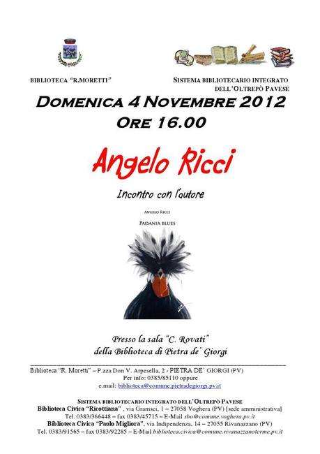 Padania blues, 4 novembre 2012