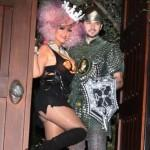Christina Aguilera e Paris Hilton al party di Halloween: le foto