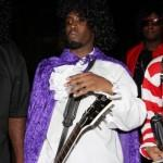 P Diddy alla festa di Halloween al Playboy Mansion