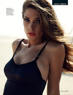 Ashley Greene in Dolce & Gabbana su GQ UK