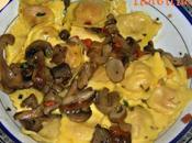 Ravioli Zucca Ricotta Funghi