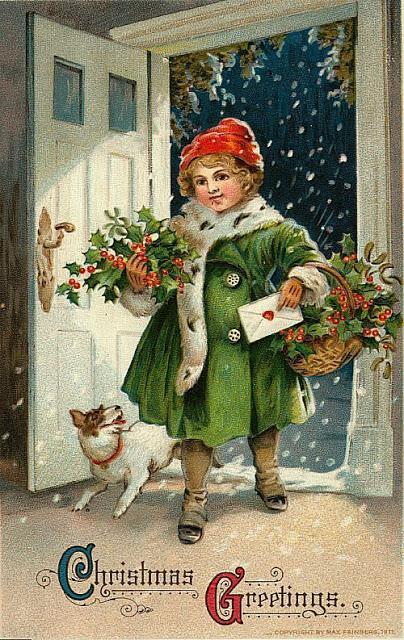 Immagini Di Natale Antiche.Antiche Cartoline Di Natale 2012 Paperblog