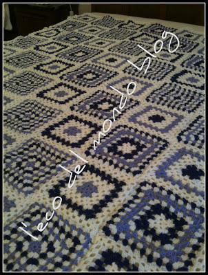 Coperta della nonna uncinetto coperta granny square for Planimetrie della coperta