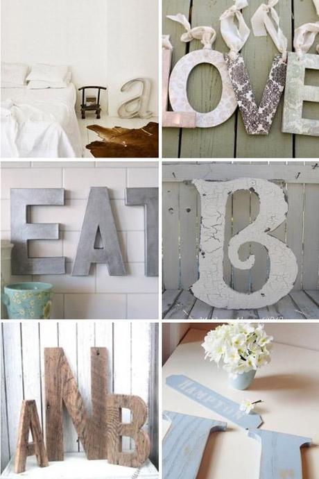 Diy home decor le scritte decorative 3d paperblog - Scritte decorative ...