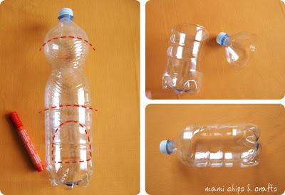 Casetta per gli uccellini da bottiglia di plastica paperblog - Casette per uccellini da costruire ...