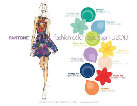 Pantone Fashion Color Report spring/summer 2013