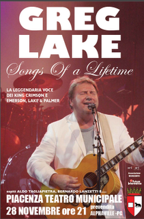 Greg  Lake in tour