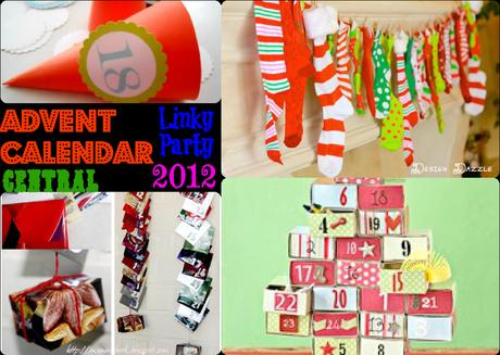 raccolta di calendari dell'avvento, advent calendar, fai da te, progetti natale 2012