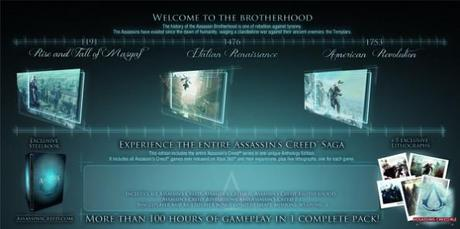 Assassin's Creed Anthology: preparato il Mega-Pack con tutti i capitoli e DLC