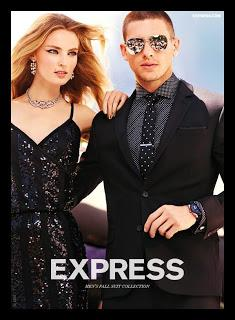Adam Senn per Express' Fall 2012 Campaign